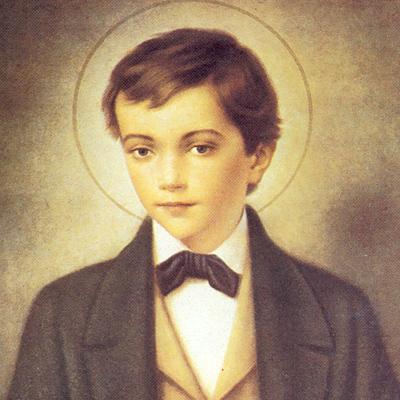 Saint Dominique Savio, élève de Don Bosco