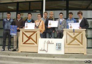 Le lycée de Giel au Concours du Meilleur Apprentis de France