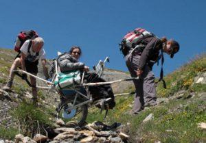 Handi Cap Evasion : la montagne en joëlette