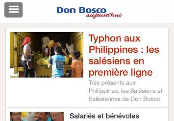 Téléchargez l'application Don Bosco sur votre smartphone…