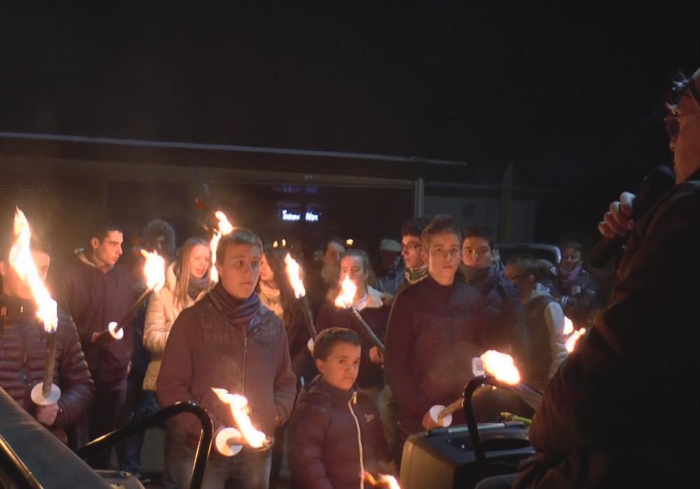 150 jeunes pour la marche du 8 décembre à Ressins