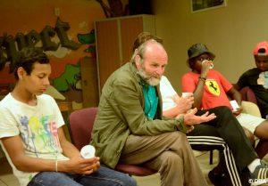 Les jeunes des Ets. d'action sociale sur les pas de Don Bosco