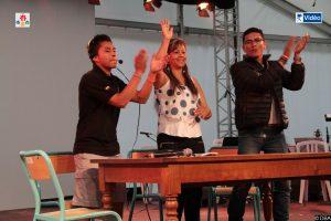Défi citoyenneté : Les jeunes et la délégation colombienne
