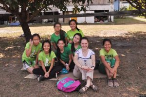 Marie volontaire aux Philippines,  « une expérience géniale »