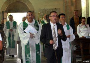 Un nouveau curé, une nouvelle communauté, un nouveau directeur à Chatillon-sur-Marne