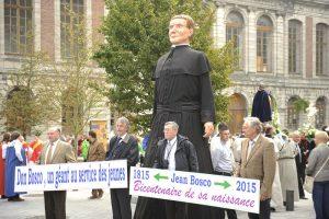 Un Don Bosco Géant à Tournai