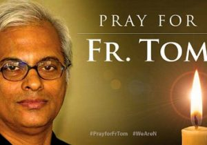 Prions tous, dans la nuit du Jeudi Saint, pour frère Tom, disparu au Yemen