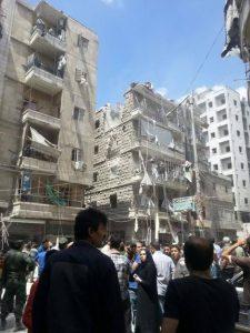 Syrie: «prier encore pour nous»