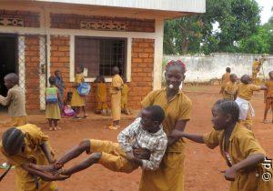 A Bangui, des espaces de paix