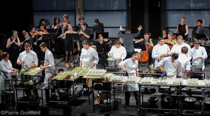 Marseille – Pastré : un spectacle cuisine et musique