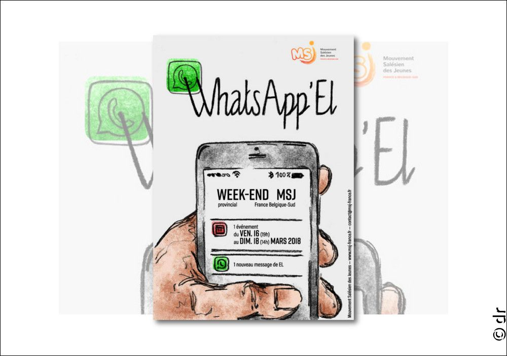 Weekend des Jeunes : Whats App'El. Come and see !