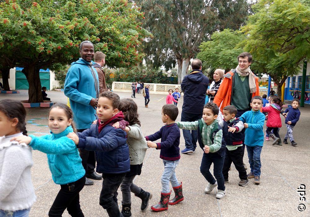 Dix jeunes salésiens de Don Bosco en formation au Maroc : le dialogue dans un monde musulman