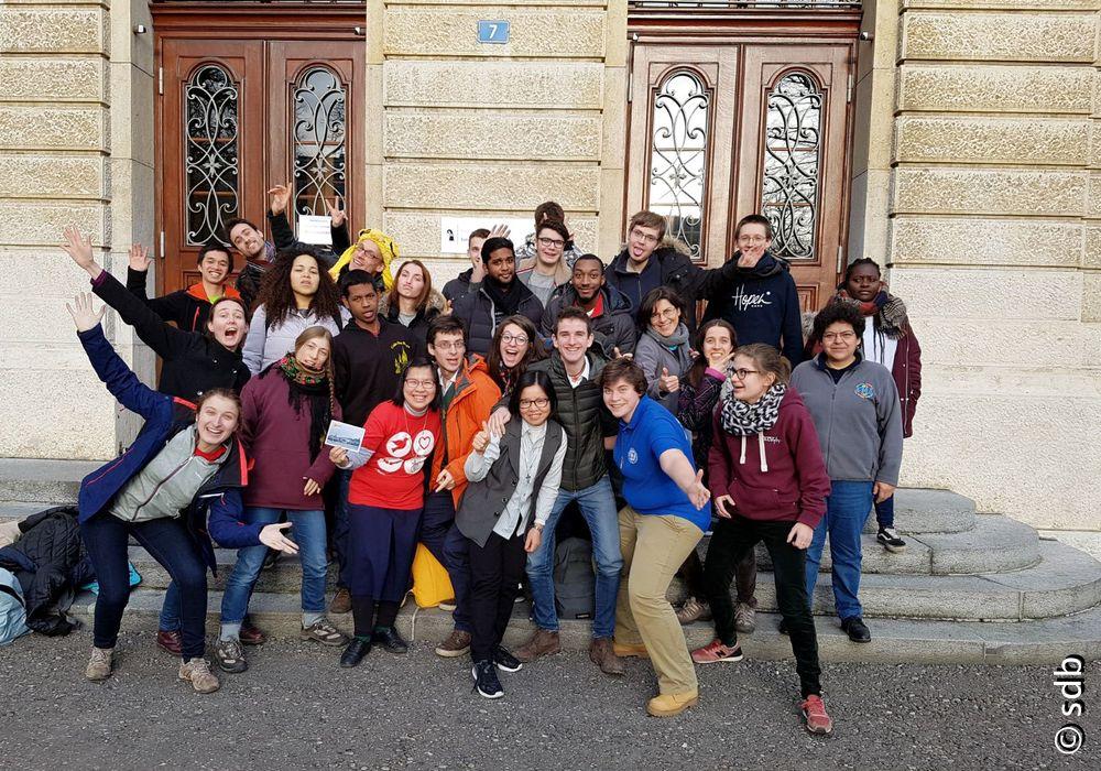 Les jeunes du MSJ à Bâle: «La foi n'a pas de frontière»