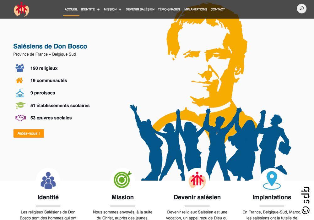 Le site salesien.com est renouvelé: les salésiens de Don Bosco en lumière!