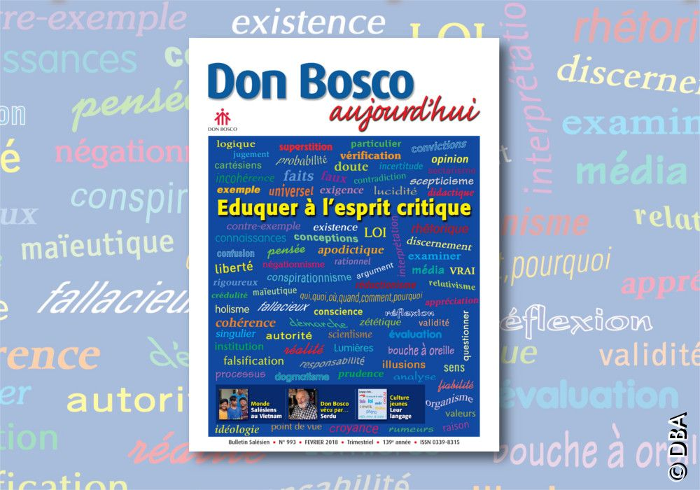 Le nouveau Don Bosco Aujourd'hui : Éduquer à l'esprit critique