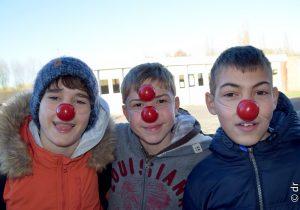 Une année avec les «clowns de l'espoir» pour le collège Immaculée Conception à Bailleul