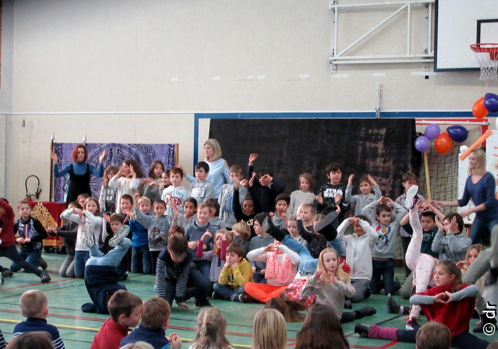 Le lycée et l'école primaire de Jeanne d'Arc de Thonon les Bains fêtent Don Bosco