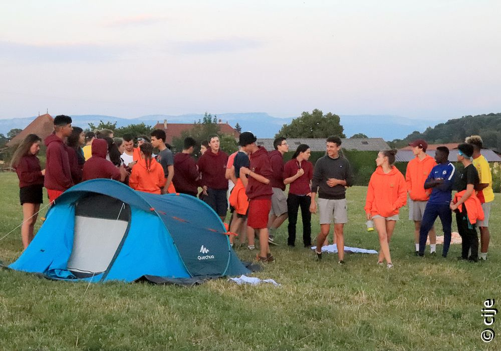 Camps Interjeunes: «S'attacher davantage aux amis qu'à son petit confort»
