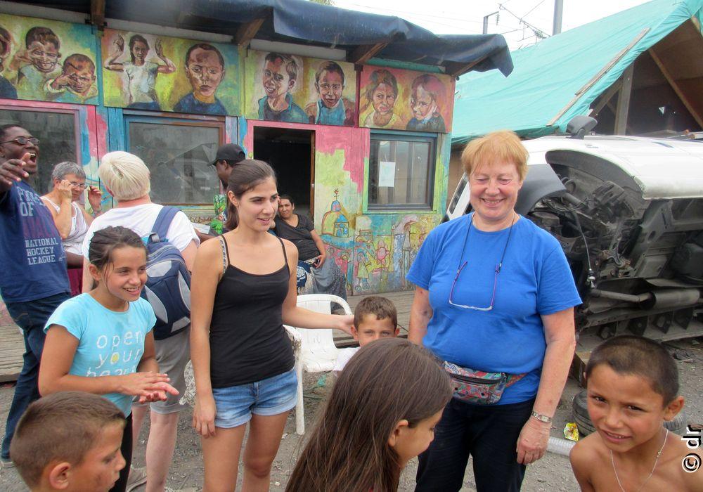 Camp d'été chez les Roms grace à ESPERE