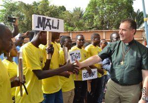 Découverte de l'Afrique francophone de l'Ouest avec le Recteur Majeur