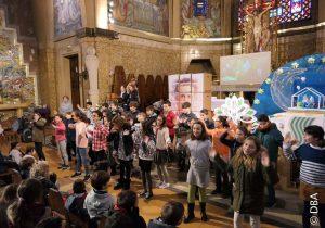 Les enfants de la Providence à Paris célèbrent Don Bosco