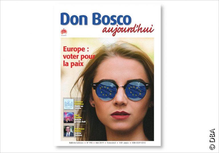 Le nouveau Don Bosco Aujourd'hui : un dossier sur les élections européennes