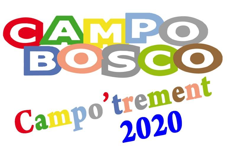 Le Campobosco 2020 se transforme en Campo'trement !