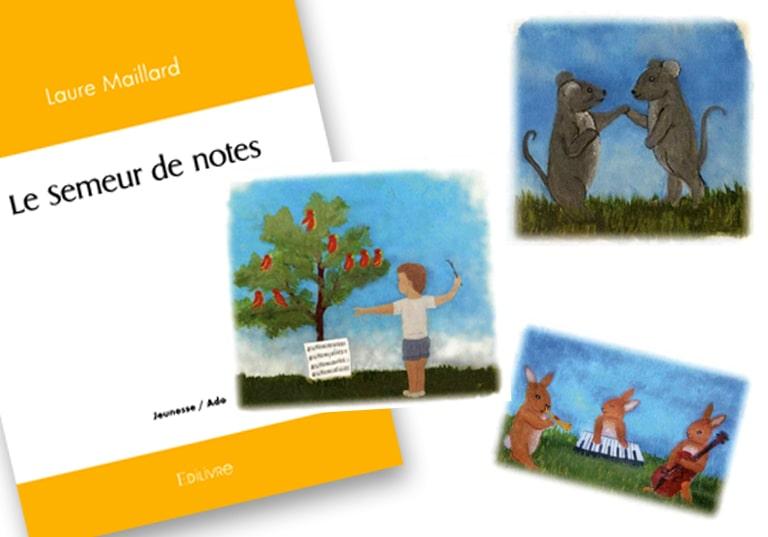 """Laure Maillard, du Mouvement salésien des jeunes, publie """"Le semeur de notes"""""""