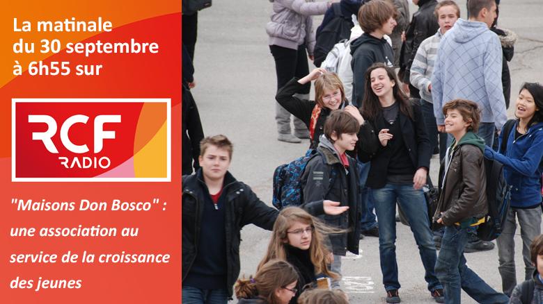 """P. Jean-Marie Petitclerc sur RCF : """"Maisons Don Bosco : une association au service de la croissance des jeunes"""""""