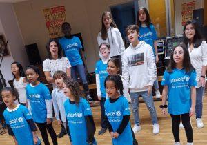Cap Cœur : les enfants d'Argenteuil chantent au profit de l'UNICEF