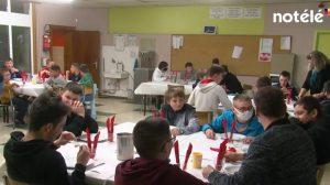 Avec Notélé, la tradition du « lundi perdu » à l'internat Don Bosco de Blandain