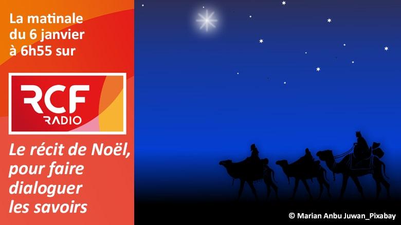 Sœur Catherine Fino sur RCF : «Le récit de Noël, pour faire dialoguer les savoirs»