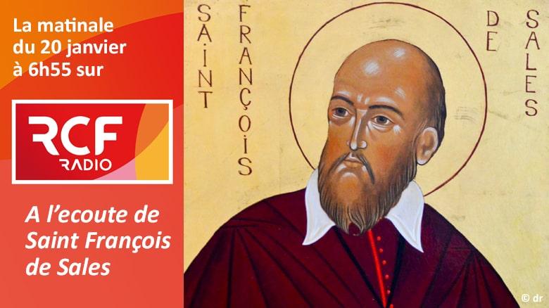 P. Jean-Marie Petitclerc sur RCF : «A l'écoute de Saint François de Sales»