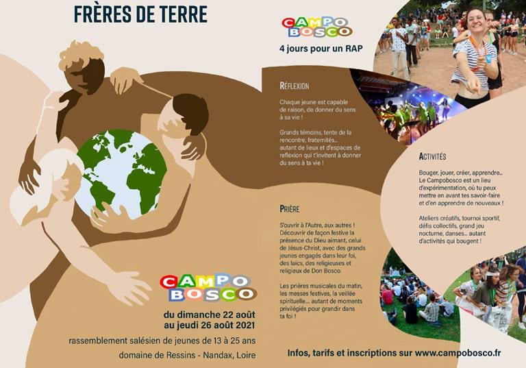Campobosco, le camp d'été national des jeunes du réseau Don Bosco : 2021, distanciel ? présentiel ?
