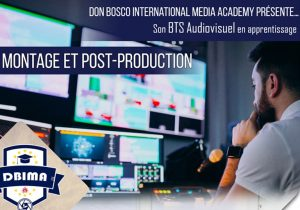 Un BTS Audiovisuel en apprentissage à la rentrée prochaine à la Don Bosco International Media Academy (DBIMA) de Paris