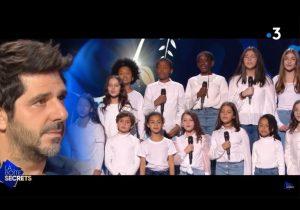Quand les jeunes de Cap Cœur émeuvent aux larmes Patrick Fiori sur France 3