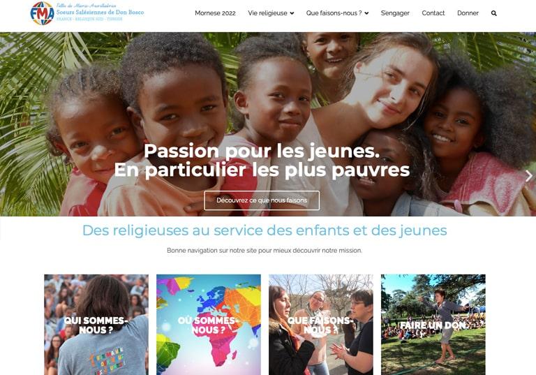 Pour la Fête de sainte Marie-Dominique, un nouveau site internet pour les sœurs salésiennes de Don Bosco
