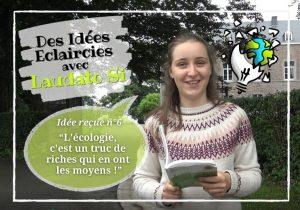 """Idée reçue n°6 : """"L'écologie, c'est un truc de riches qui en ont les moyens."""""""