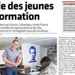 Les Ateliers Jean Bosco de Martigny à l'honneur dans la presse suisse