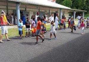 Mission estivale en Guadeloupe:  «Les enfants sont heureux de nous voir»