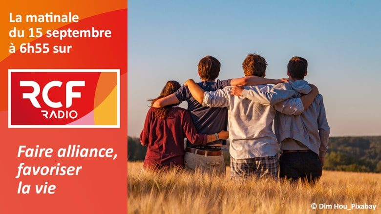Sœur Catherine Fino sur RCF : «Faire alliance, favoriser la vie»