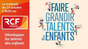P. Jean-Marie Petitclerc sur RCF : «Développer les talents des enfants»